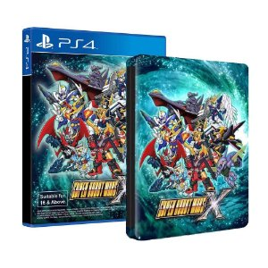 Super Robot Wars X - STEELBOOK EDITION - PS4