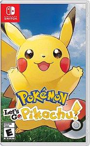 Pokemon Let's Go Pikachu! - Switch