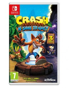 Crash Bandicoot N. Sane Trilogy - Switch