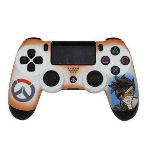 Controle Dual Shock 4-Alta Performance Overwatch - PS4