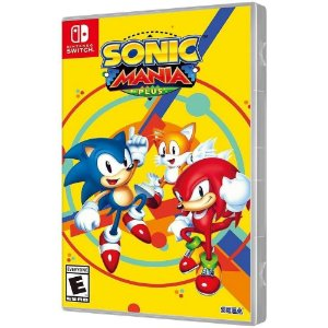 Game Sonic Mania Plus - Switch