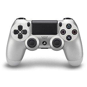Controle Dualshock 4 Silver (Prata) - Ps4