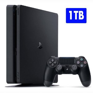 Console Playstation 4 SLIM 1TB 1Tera Bytes Novo Modelo Ps4 - Sony - Bivolt