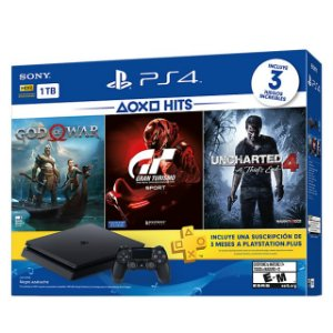 Console Sony Playstation 4 Slim 1tb Bundle God Of War, Gran