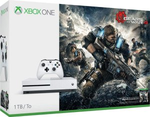 Xbox One S 1TB Slim Gears of War 4