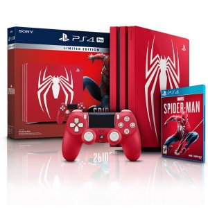 Console Playstation 4 Pro 1Tb com Marvel Spider Man Bundle PS4 Sony