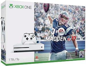 Console Xbox One S 1Tb Com Madden 17