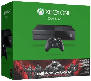 Console Xbox One 500GB + Game Gears of War 4 (via download) + Controle Sem Fio - Microsoft