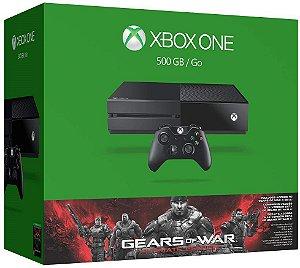 Console Xbox One 500GB + Game Gears of War 4 (via download) + Controle Sem Fio - Microsoft