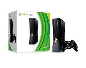 Console Xbox 360 Slim 4GB + Controle Sem Fio - Microsoft