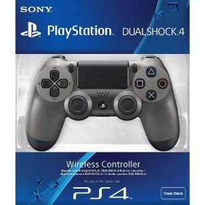 Controle Wireless Dualshock 4 Steel Black