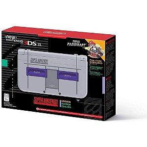 Nintendo New 3DS XL Super NES Edition c Mario Kart