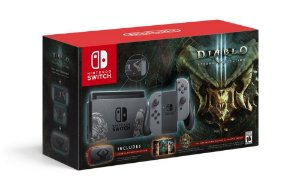 Console Nintendo Switch 32GB Gray Bundle Diablo 3 Eternal Collection