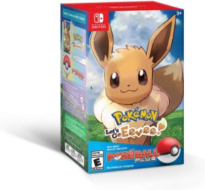 Pokemon Let's Go Eevee! + Poke Ball Plus - Switch