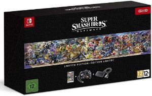 Jogo Super Smash Bros Ultimate Limited Edition Nintendo Switch