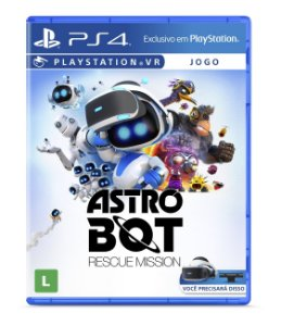 Game Astro Bot Rescue Mission - PS4 VR