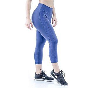 Calça Corsário Speed - Azul Marinho