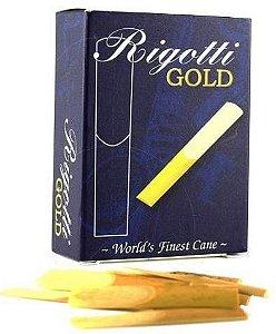 Palheta Rigotti Gold 3 (Sax Tenor) Caixa c/ 10 (FRETE INCLUSO)