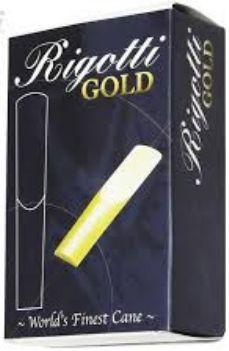 Palheta Rigotti Gold 3 (Sax Tenor) Caixa c/ 10