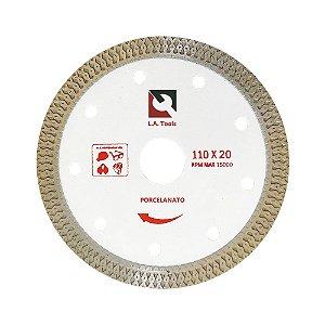 Disco Diamantado Turbo X Porcelanato Extra Fino (110mm)