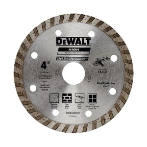 "Disco Diamantado Turbo 4"" High Performance 200X - DeWalt"
