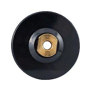 Suporte de Borracha Flexível para Lixa com Velcro 100mm