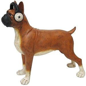 Bulldog Decorativo de Resina
