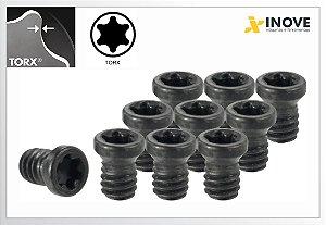 Parafuso Torx M2 à M5 p/cabeçotes e suportes intercambiáveis