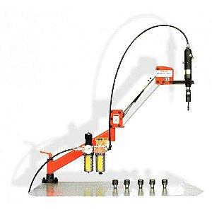 Rosqueadeira Portátil Pneumática Para Rosquear M3-M12 - MOD: AQ-12-950