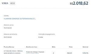 PEDIDO ESPECIAL - VENDA 4650