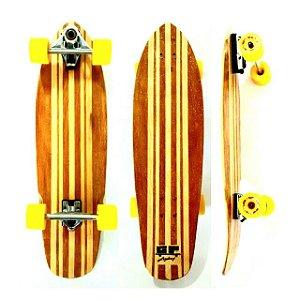 Skate Carver Longboard Simulador De Surf Homemade Gp Longboard