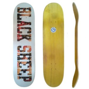 Shape Skate Maple Canadense Profissional 8.0 Black Sheep