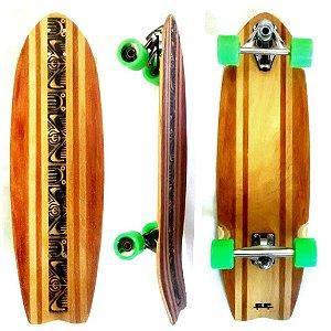 Skate Simulador De Surf Carving Gp Longboard Maori