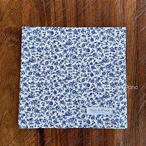 Guardanapo Floral Azul Marinho