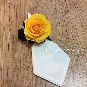 Porta Guardanapo Rosa Amarela