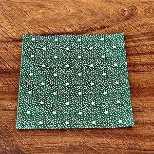 Guardanapo Natal Verde com Estrelinhas