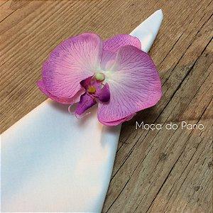 Porta Guardanapo Orquídea Rosa