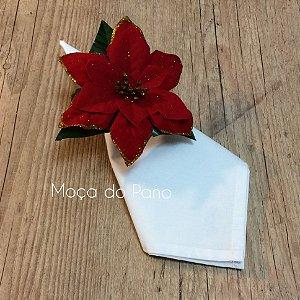 Porta Guardanapo Flor do Espírito Santo com Brilho