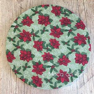 Capa de Sousplat Natal Floral Pequeno