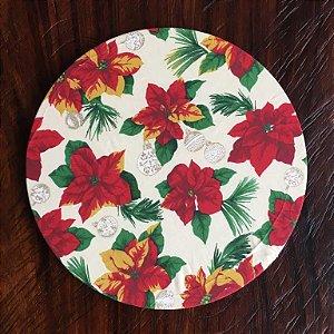 Capa de Sousplat Natal Flor do Espírito Santo