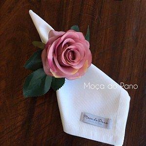 Porta Guardanapo Rosa Lilás