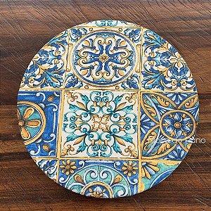 Capa de Sousplat Azulejo Português