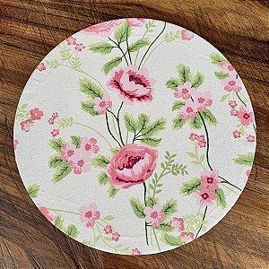 Capa de Sousplat Floral Vivi