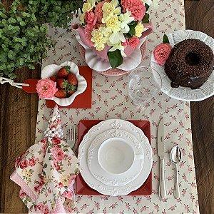 Caminho de Mesa Floral Mabelle