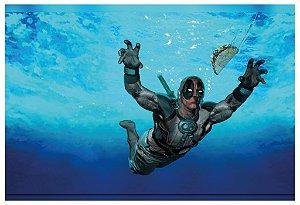 Poster Deadpool Nevermind Nirvana