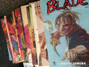 BLADE a Lâmina do Imortal - 28 Revistas