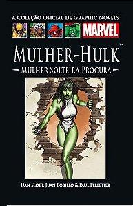 MULHER HULK - SALVAT MARVEL GRAPHIC NOVELS - Nº38