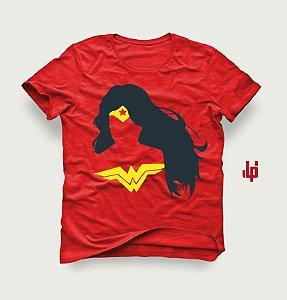 Mulher Maravilha Minimalista - Camiseta LP com pôster grátis do filme