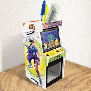 Porta Treco Arcade Branco - Street Fighter 2