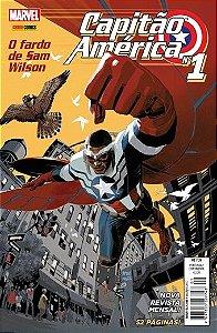 Capitão América - Nova Seríe - O Fardo de Sam Wilsom - Ed. 1